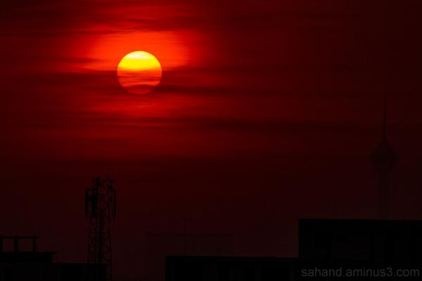Sunset tehran