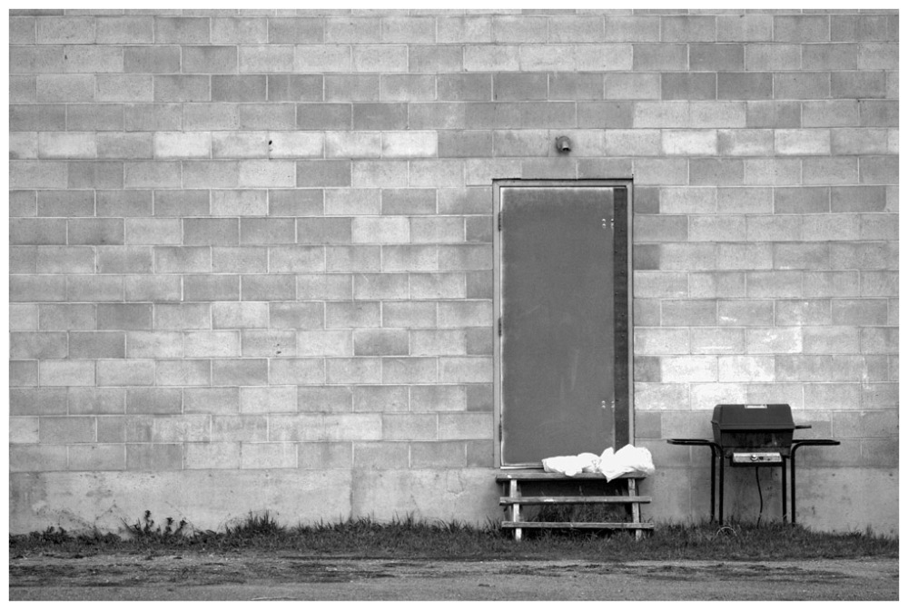 Barbecue in Black and White