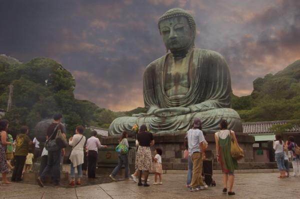 The Daibutusu at Kamakura