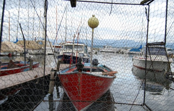 A fishing port