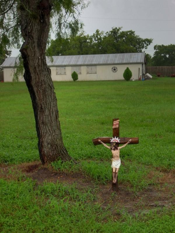 Roadside crucifix