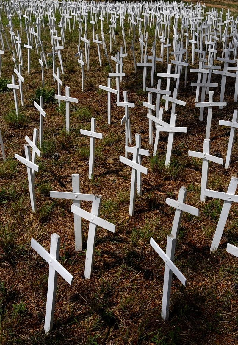 Crosses for childrens hunger