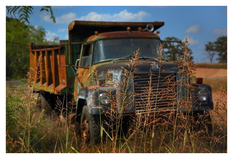 Dumped truck image 1