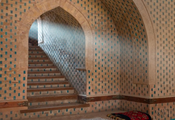 Uzbekistan Mizdakhan Mausoleum of Mazlum Khan Slu