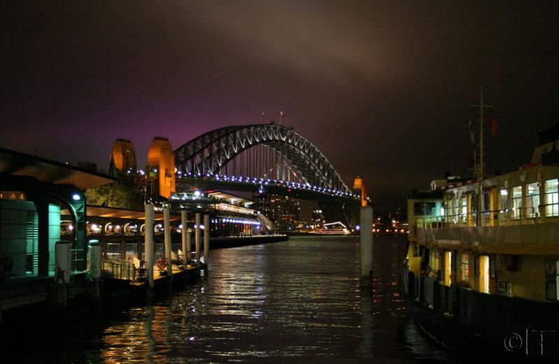 Australia. Circular Quay. Sydney Harbour Bridge.