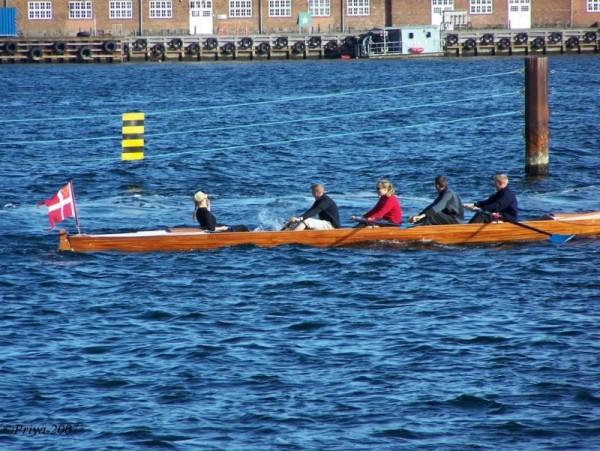 row a boat...