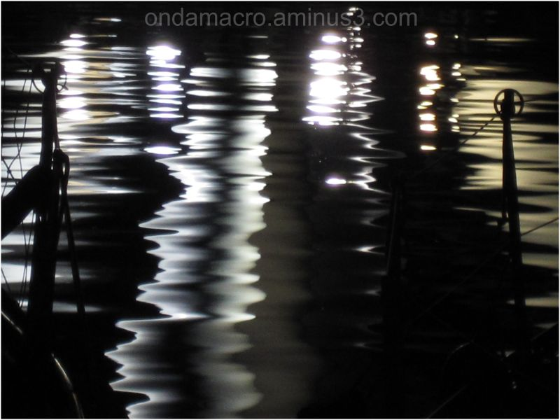 nocturne light on sea