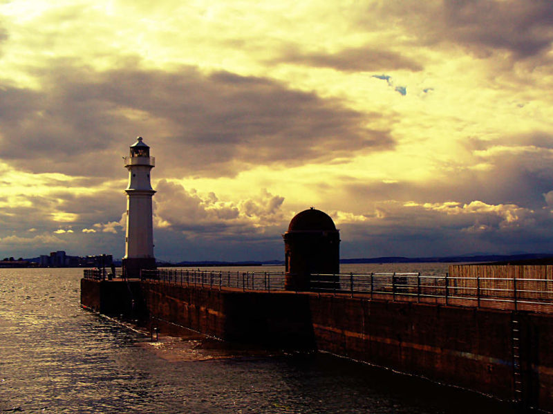NewHaven Kay Edinburgh  late afternoon.