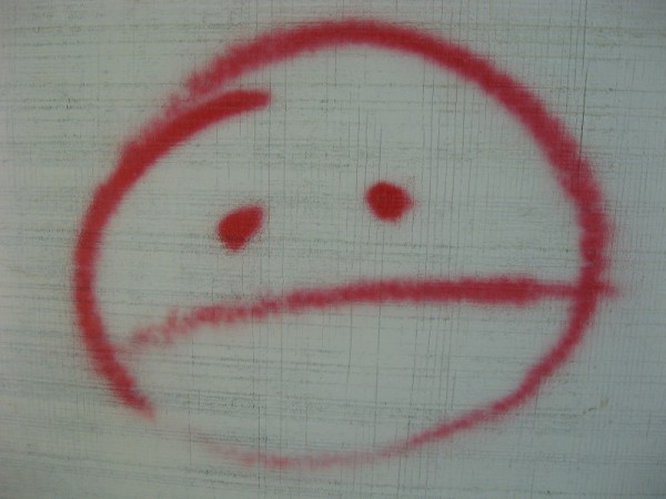 pac man from the front grafitti