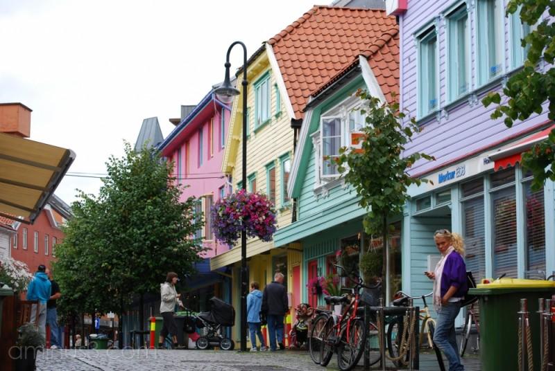 Colourful Stavanger.