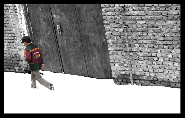boy,snow