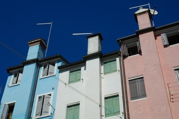 Chioggia houses
