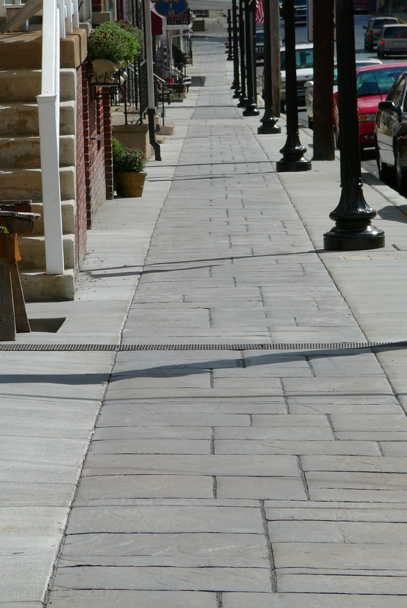 New Sidewalks = Cha-Ching ! ~ NOT !!