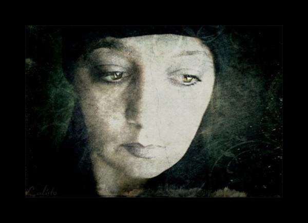 portrait, female, artwork, emotional