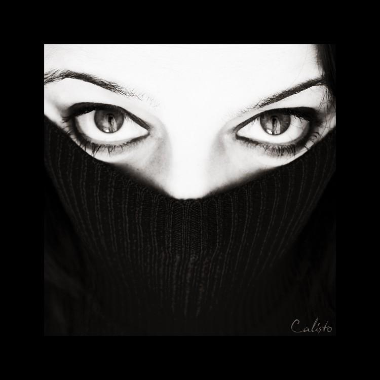 black, white, light, soul, eyes, straight