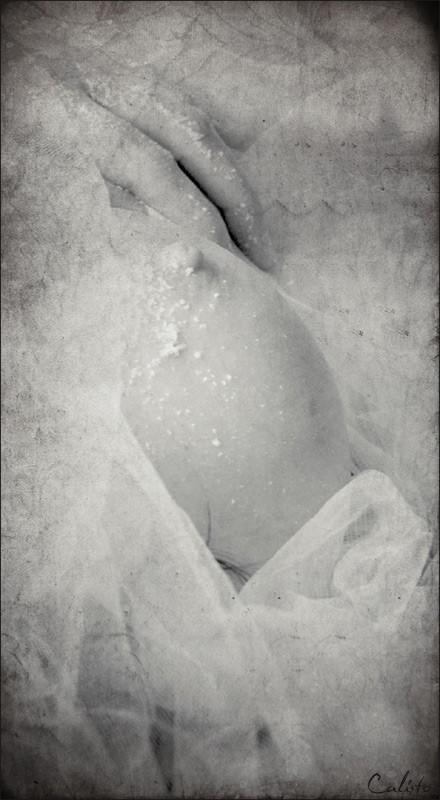 snow, nude, desire