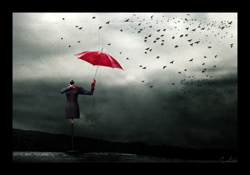 free, mind, reality, unreal, umbrella, red, birds,