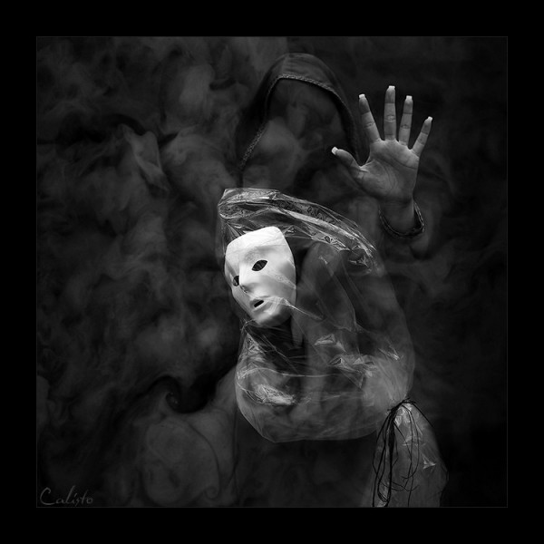 face, yourself, mask, dust, b/w, artwork