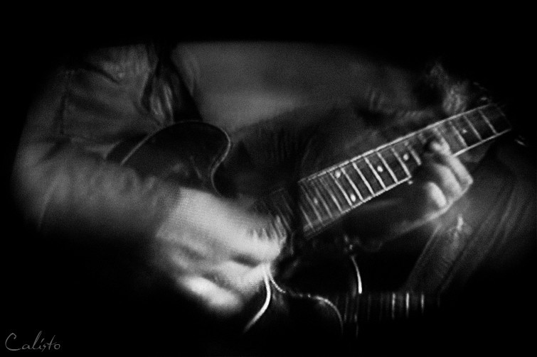 blues, guitar, b/w, concert, reflection, blur, jaz