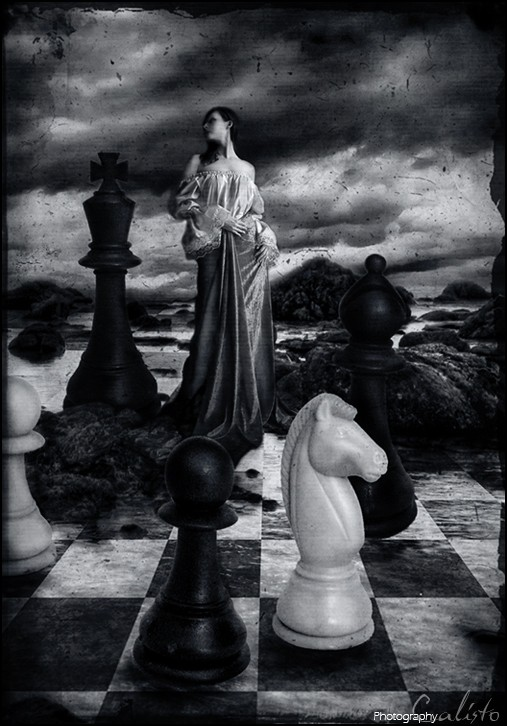 game, play, chess, hope, life, digiart, fantasy