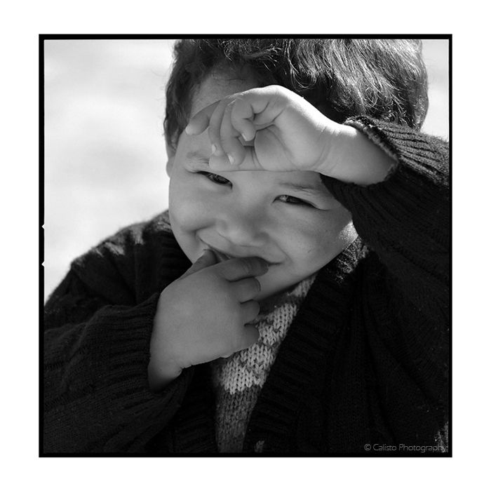 boy, b/w, kiss, smile, shy