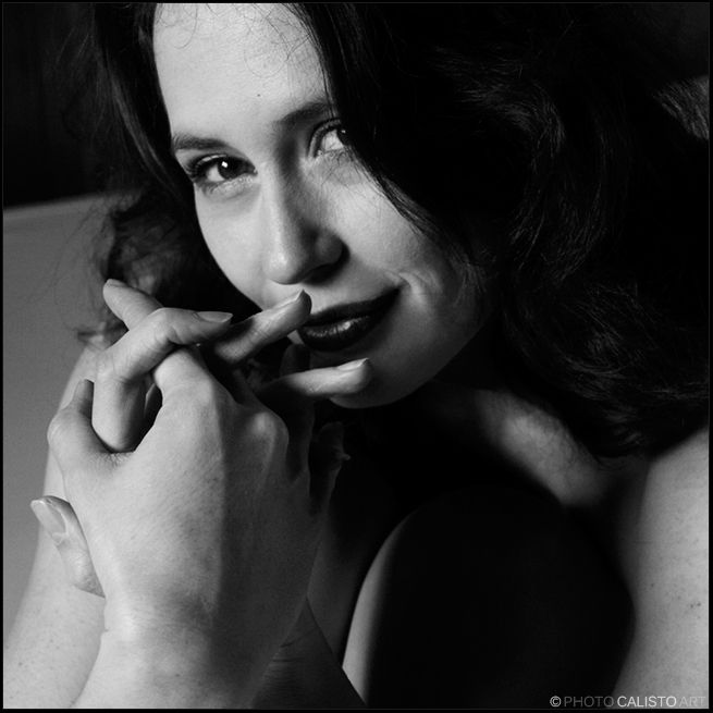 Portrait, Female, b/w, soul, Seelenlicht
