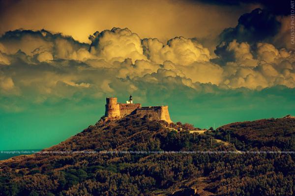 landscape vintage tabarka tunisia