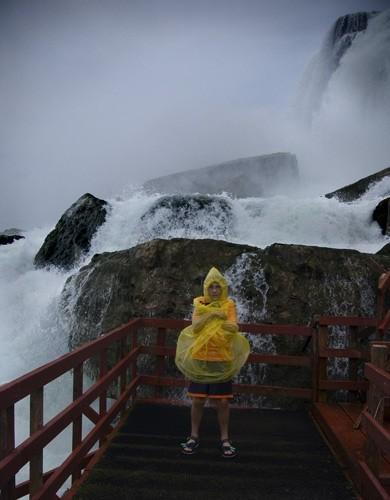 David gets wet