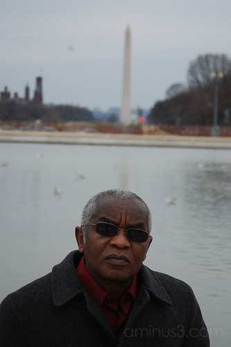 DC series: The Washington Monument-Man with Shades