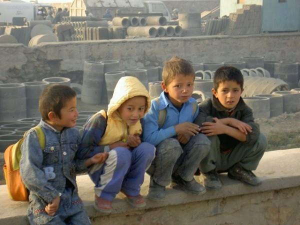 Kabuli schoolboys