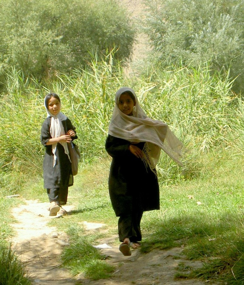 schoolgirls from Kabul