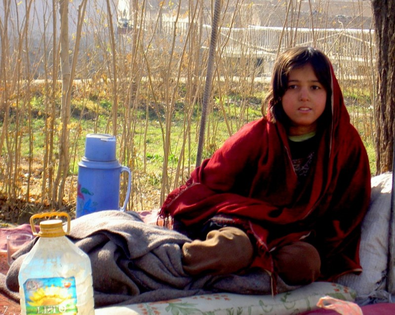 Little Pashtun girl