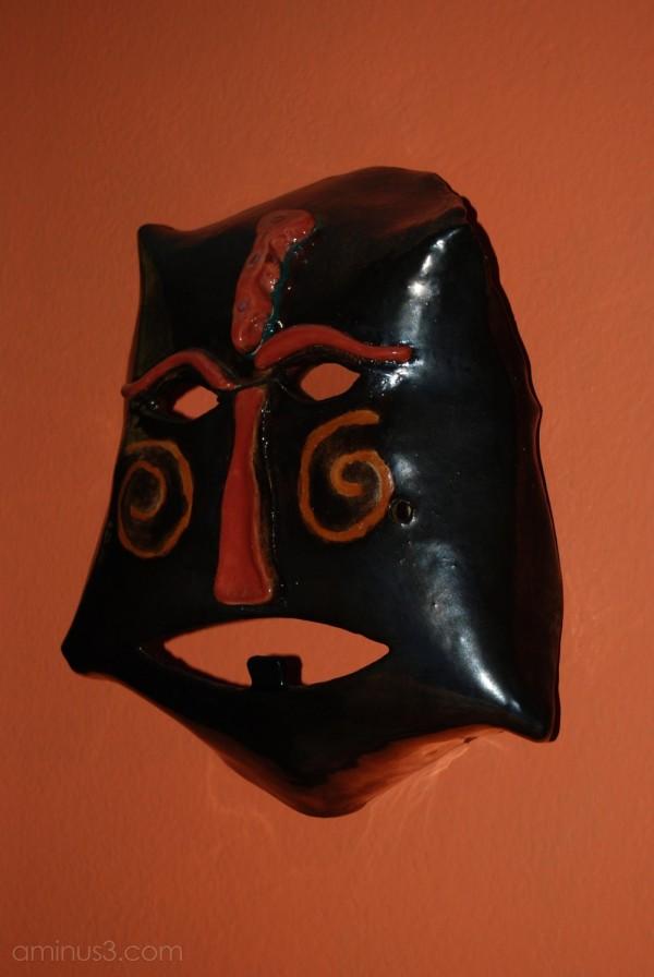 Sarah's mask