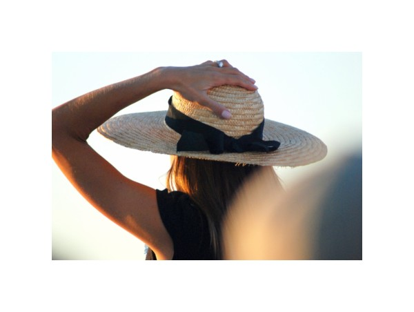 woman hat CapeCod