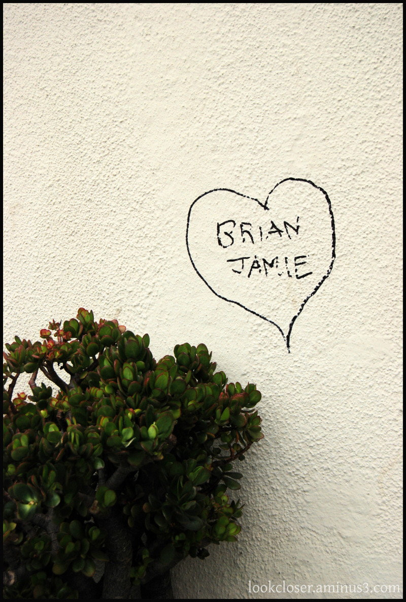 SF grafitti love