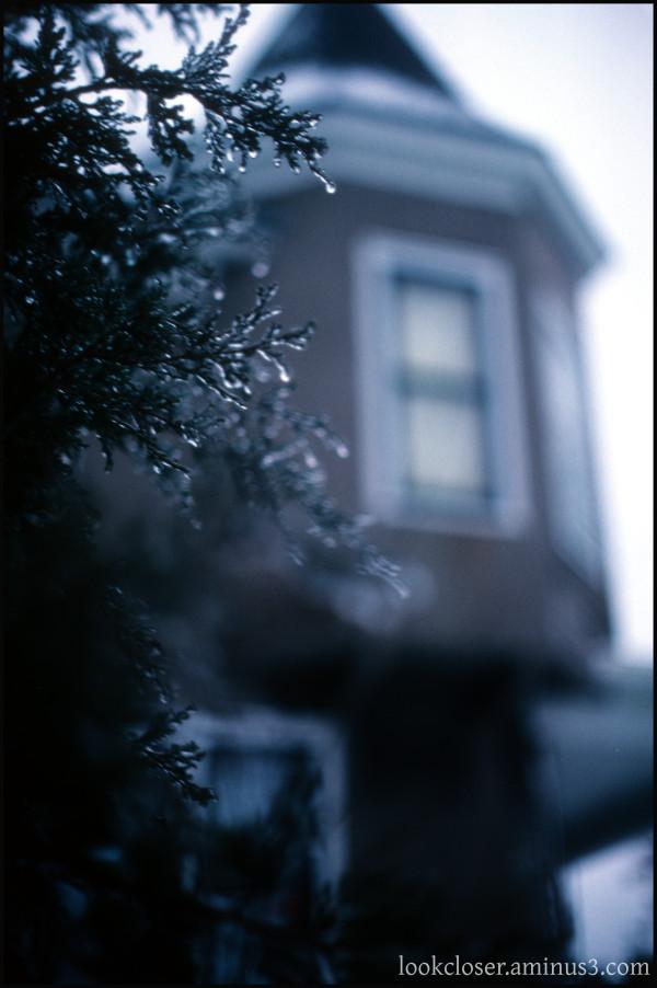 IA Dubuque winter home