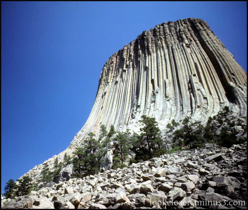 Wyoming Devil'sTower Digitalized
