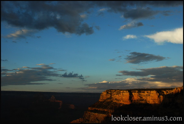 Grand-Canyon AZ West sunset