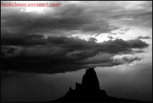 Monument Valley BW