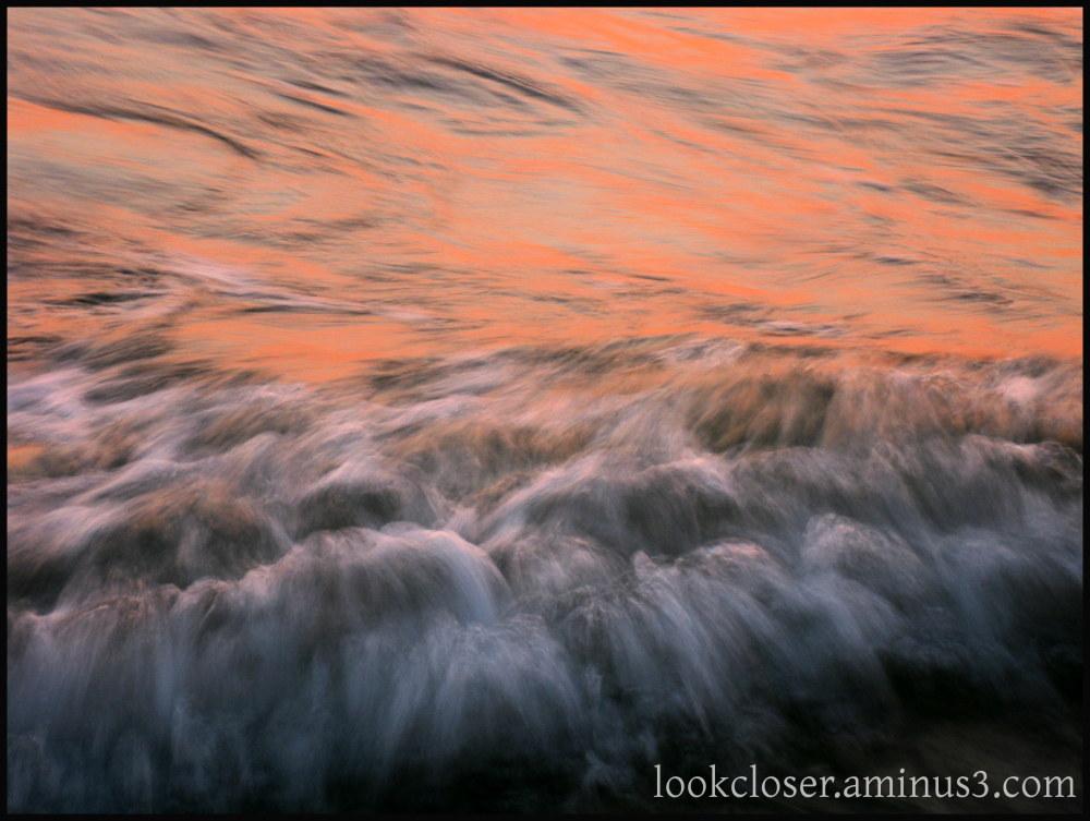 sunset motion water Gulf FL