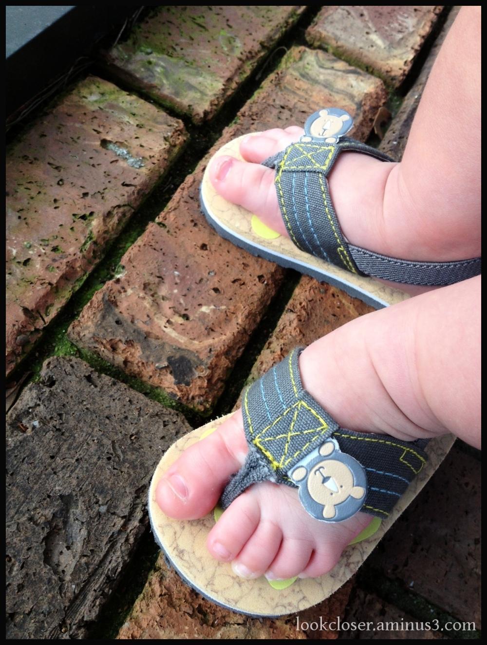 Atticus baby toes sandals
