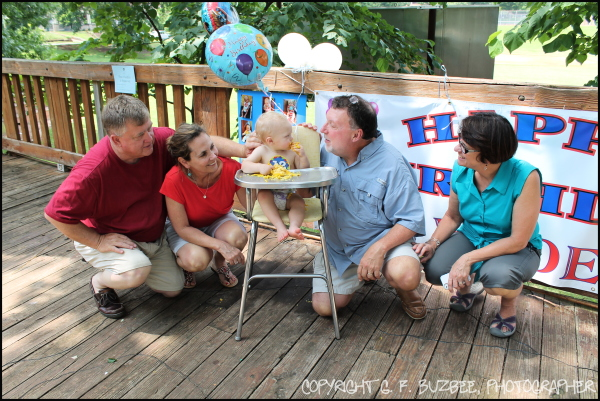 birthday party grandparents wade celebration love