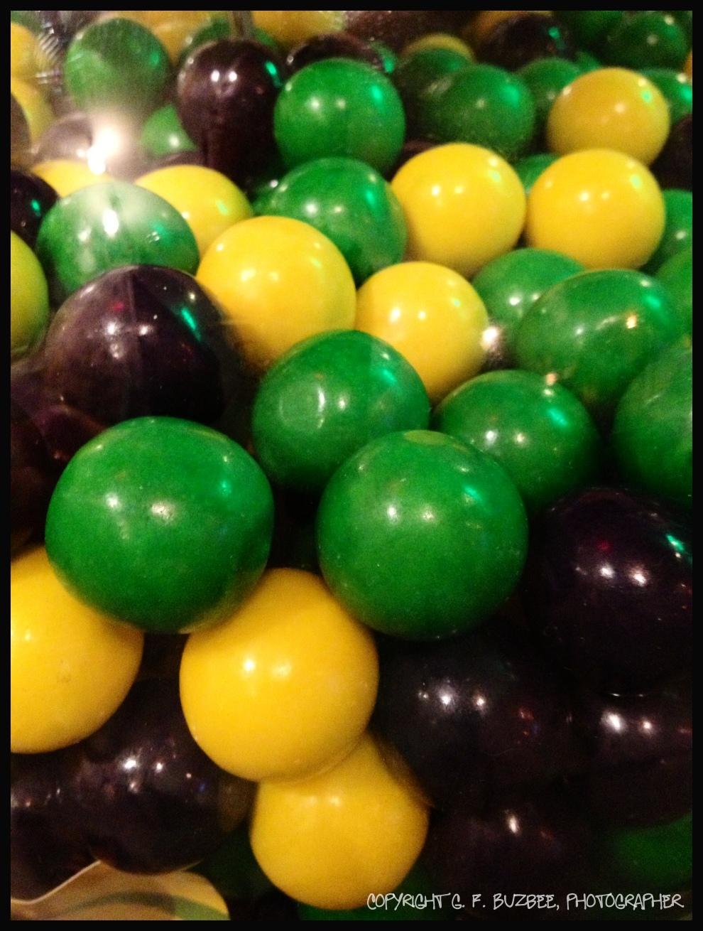 gum balls Mardigras
