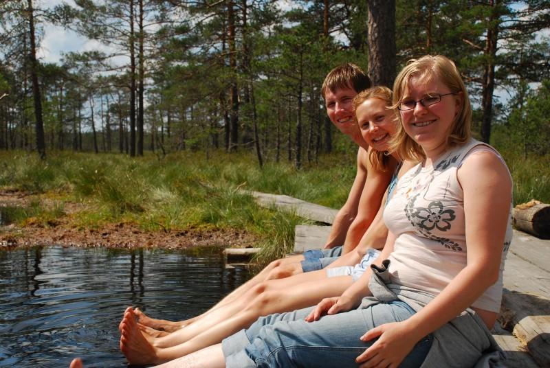My 3 wonderful estonian hosts
