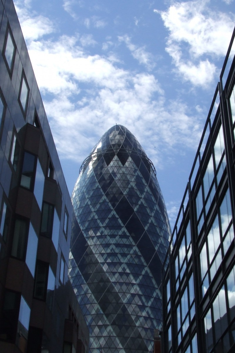 The Gherkin tower