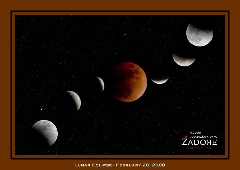 Total Eclipse of the Moon, February 20, 2008
