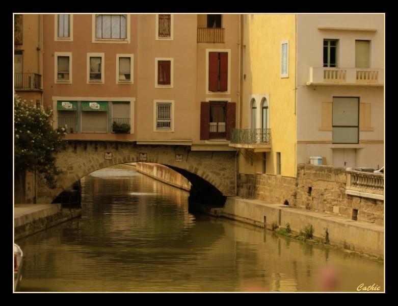 Narbonne, canal du midi