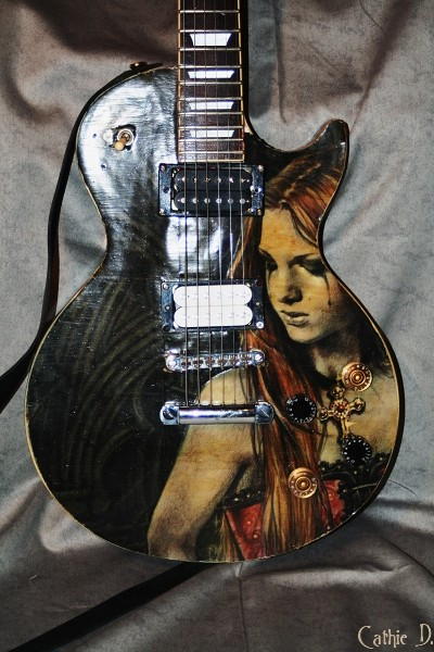 guitare customis&eacute;e