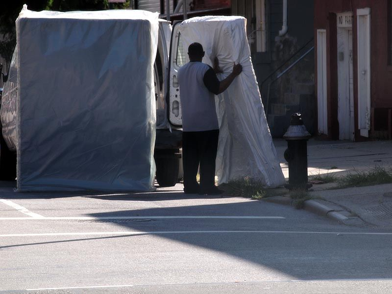 Mattress delivery in Bed-Stuy