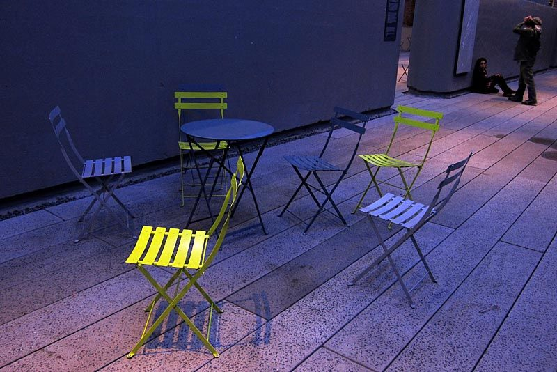 Chairs at High Point